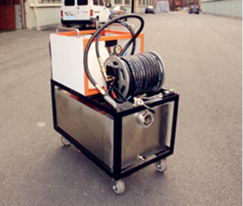 XFY18/4-A型移动式车载式高压细水雾灭火装置